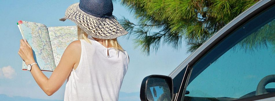Rent a Car in San Stefanos, north-west Corfu